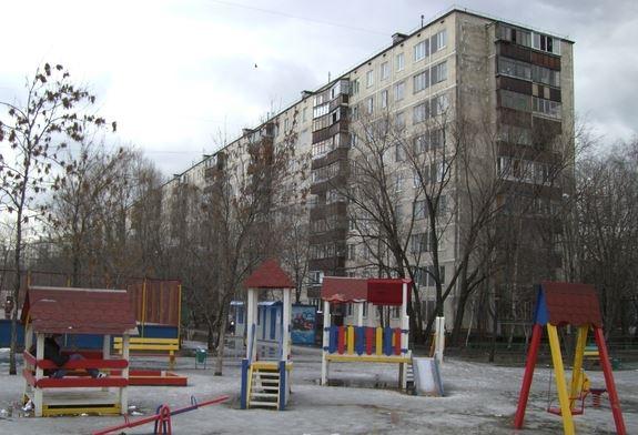 Однокомнатная квартира в спальном районе Москвы в Новогиреево